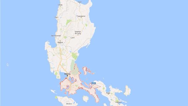 Hasta el momento no se han reportado fallecidos. La isla de Luzón es la que alberga a la capital Manila.