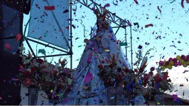 Virgen de la Alta Gracia en Huamachuco