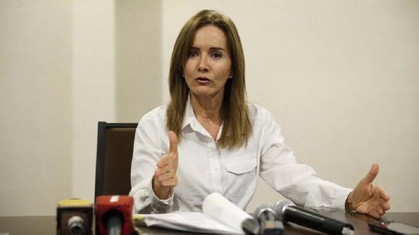 Profesores ligados al Movadef no desestabilizarán al país — Marilú Martens