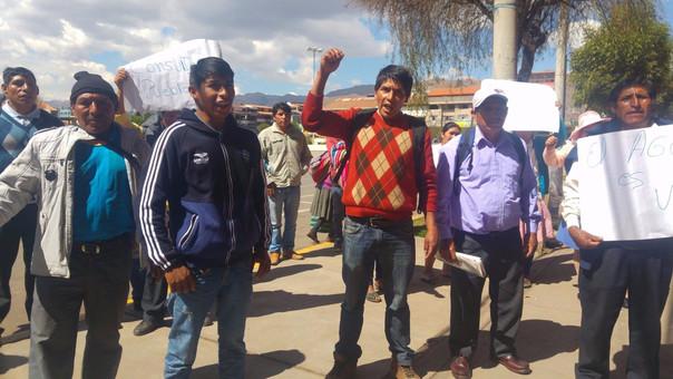 Comunidad campesina rechaza construcción de relleno sanitario