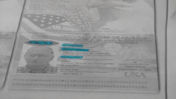 Documento de turista fue encontrado entre sus pertenencias