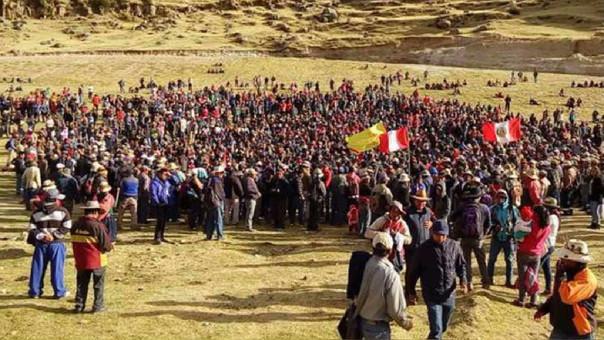 Nuevamente se registraron bloqueo de vías en Chalhuahuacho, indicó la Defensoría del Pueblo.