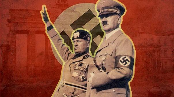 Adoft Hitler Benito Mussolini