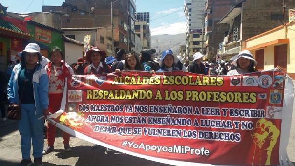 Huancayo, escolares