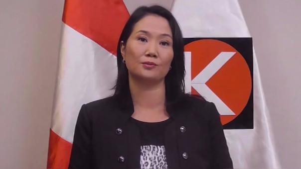 Keiko Fujimori sugiere a PPK