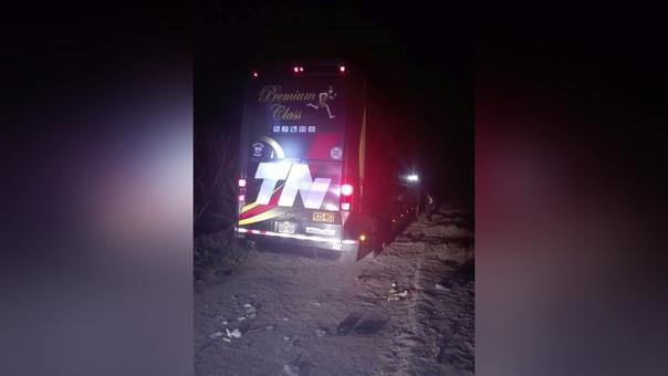 En la provincia de Ascope asaltan bus con 56 pasajeros y se llevan 26 mil soles