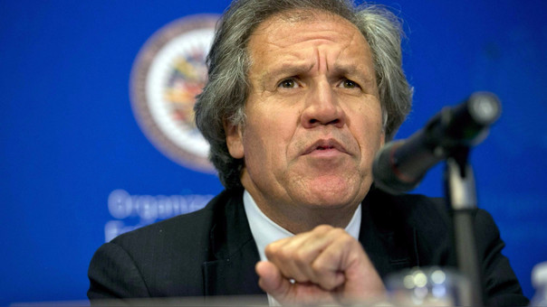 Almagro clama por cita de OEA tras