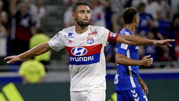 Nabil Fekir tiene 3 goles y una asistencia en los 3 partidos que ha jugado en la presente edición de la liga francesa.