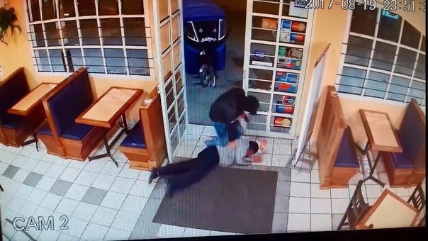 asalto pollería