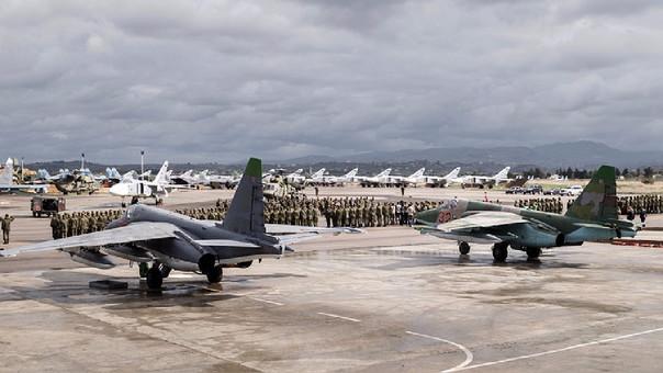 Fuerza Aérea rusa elimina a más de 200 terroristas del Estado Islámico