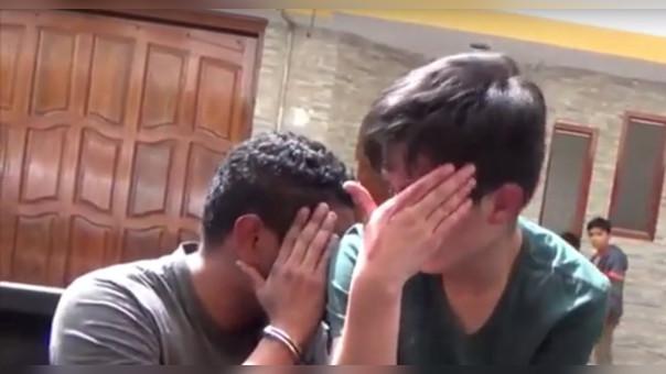 Jamir Ibhan López Huamán (21) y Esaú Chávez Morate (22) son acusados del presunto delito de violación sexual a menro de edad