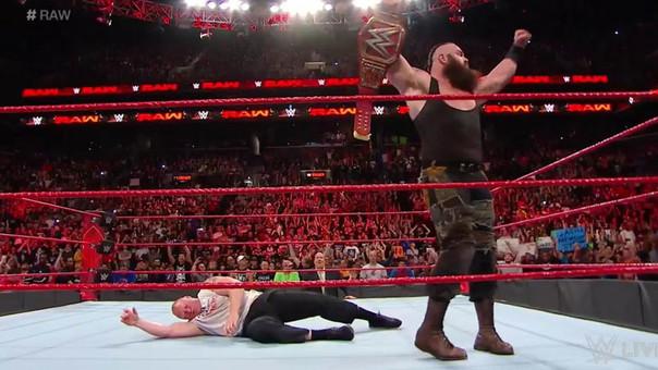 Brock Lesnar salió con el Campeonato Universal de WWE SummerSlam