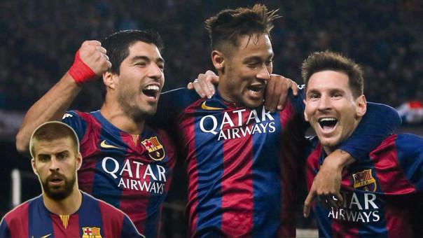 La 'MSN' hizo 228 goles en los 110 partidos que jugaron juntos.