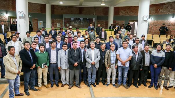 Alcaldes de Cajamarca mostraron su disposición de viajar en conjunto a Lima para exigir restitución de recursos