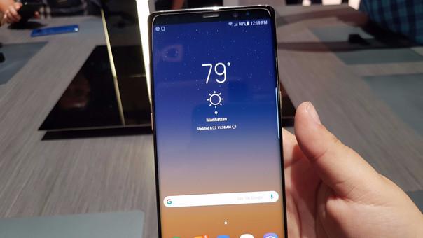 Samsung Galaxy Note 8: las postales de la presentación del smartphone