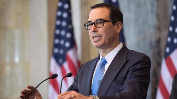 Steven Mnuchin, secretario de Estado del Tesoro de EE.UU. dio detalles sobre la noticia en conferencia de prensa.