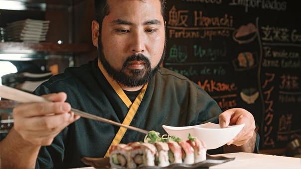 Ivan Matsufuji, itamae y dueño de Edo Sushi Bar, fue elegido como el curador del segundo corte de Filo.