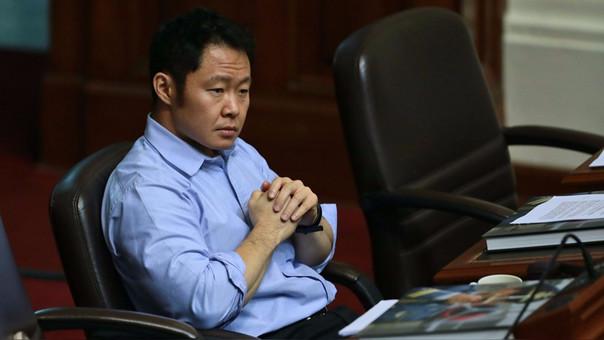 Kenji Fujimori fue suspendido por 60 días por su bancada, Fuerza Popular.