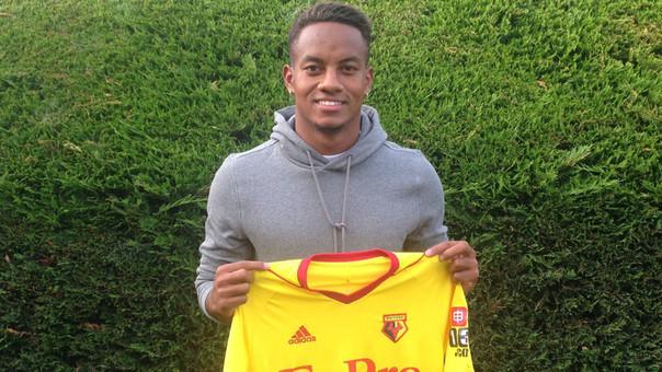 André Carrillo es nuevo jugador del Watford inglés, informaron en Portugal