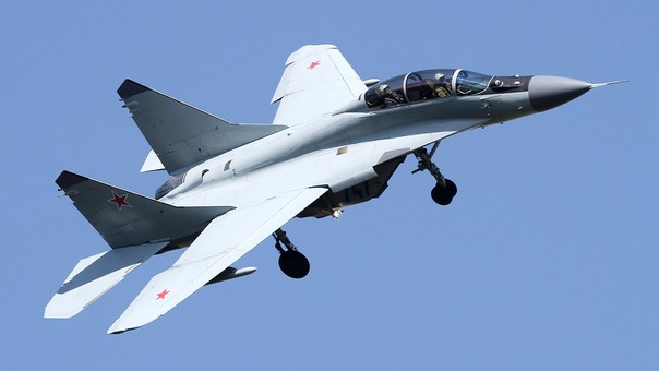 Así es el modelo de caza ruso MiG-29M2