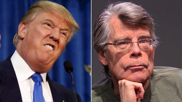 Stephen King le prohíbe a Trump ver su nueva película de