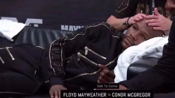 Floyd Mayweather nunca ha perdido una pelea en toda su carrera.