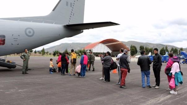 Los vuelos serán a bordo de aviones de la Fuerza Área del Perú, gracias a la coordinación entre el Ministerio de Defensa y el Ministerio de Educación.