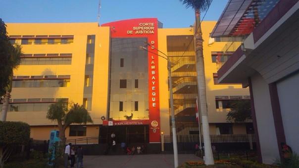 Corte Superior de Justicia de Lambayeque.