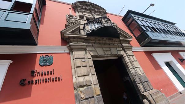 La sede del Tribunal Constitucional en el Centro de Lima