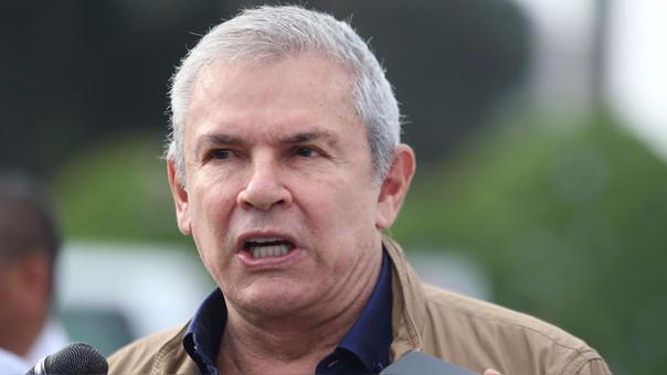 Luis Castañeda Lossio explicó que las huelgas frenan el comercio de la zona.
