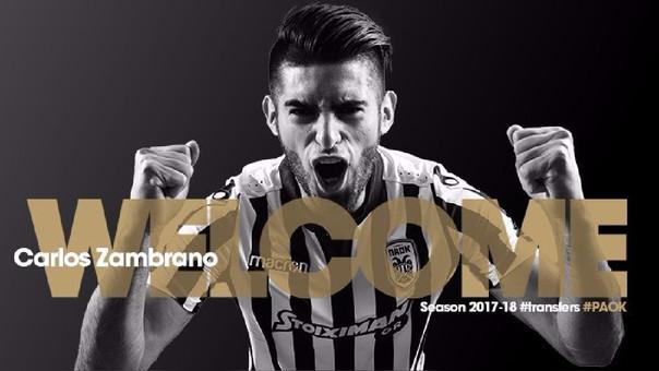 Carlos Zambrano jugará en el PAOK FC de Grecia — Cambia de piel