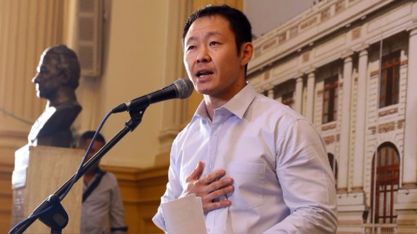 El congresista Kenji Fujimori se mostró a favor de que se derogue de la'Ley antitransfugismo