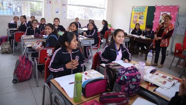 Recuperación de clases tras huelga de profesores culminaría en diciembre — DRE Lima