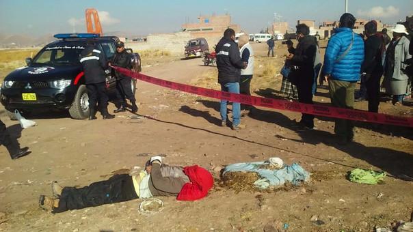 El cadáver fue encontrado cerca de un basural próximo al fundo Morogachi.