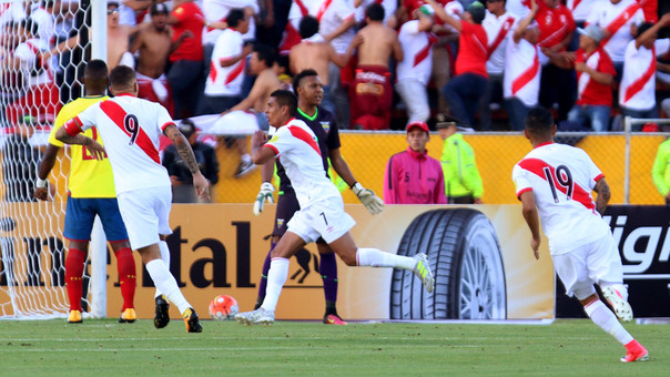 La Selección Peruana sumó su séptimo triunfo en las Eliminatorias Rusia 2018.