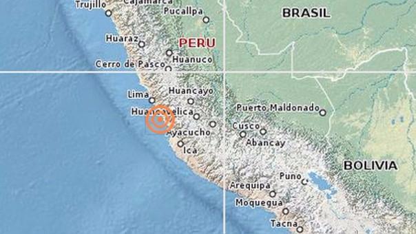 Un sismo de 3.8 se sintió en Lima esta mañana