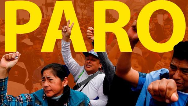 El Sutep de Lima convocó al paro de 24 horas este viernes.
