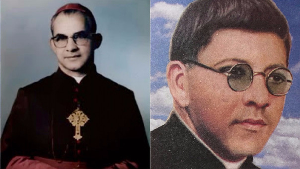 El obispo Jaramillo y el padre Ramírez Ramos fueron proclamados beatos por el papa Francisco en Colombia.