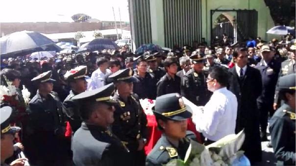 Honores policías