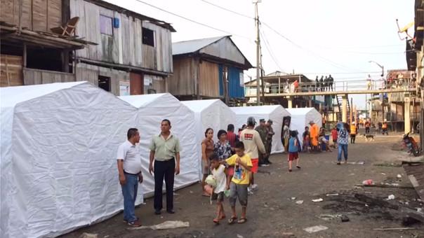 PPK se solidariza con los afectados y envía mensaje — Incendio en Iquitos