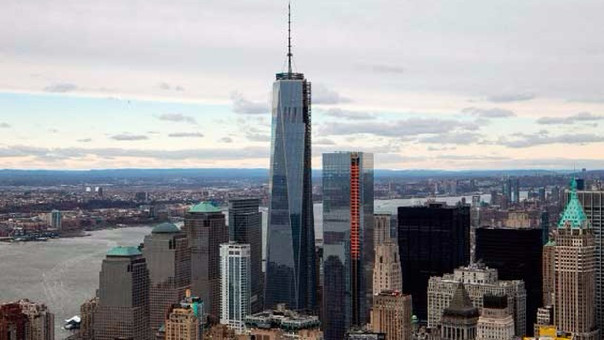 One World Trade Center es uno de los rascacielos más alto de los Estados Unidos.