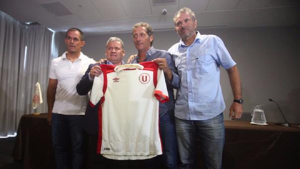 César Vento se encargó de la contratación de Pedro Troglio y todo su comando técnico para la 'U'.