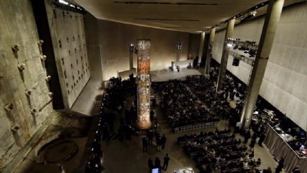 El presidente estadounidense Barack Obama inauguró en Nueva York el museo del 11 de septiembre.