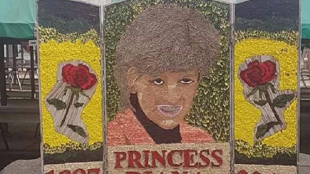 Esta fue el retrato de la princesa Diana que causó polémica.