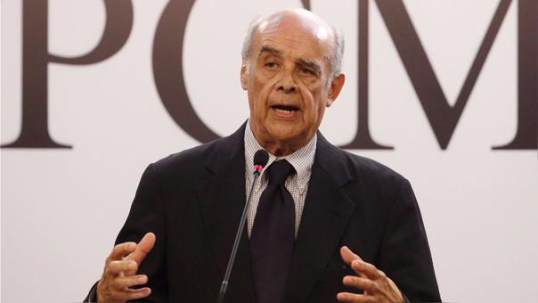 Ricardo Luna es el ministro de Relaciones Exteriores.