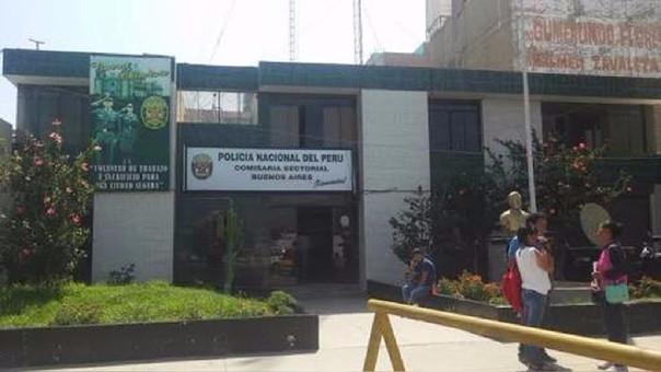Comisaría de Nuevo Chimbote.