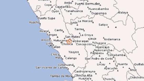 En las últimas 24 horas se han registrado más de 10 movimiento sísmicos en Matucana.