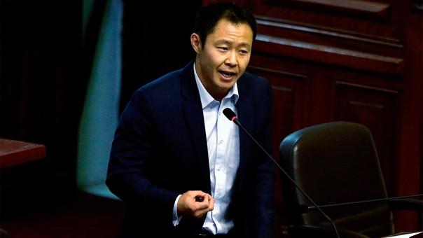 Kenji Fujimori se mostró en desacuerdo con la ley impulsada por su bancada.