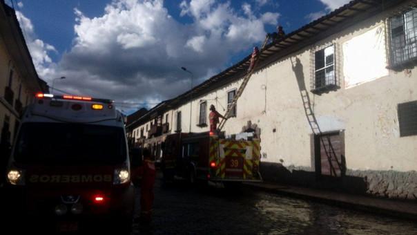 incendio Cusco