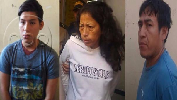 Marcio Núñez y sus padres
